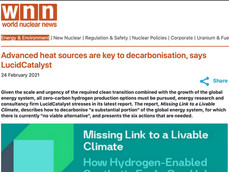 Advanced heat sources are key to decarbonisation, says LucidCatalyst