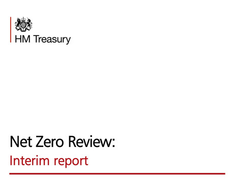 ETI NCD Study cited in the UK's HM Treasury NetZero Interim report