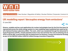 UK Modelling Report 'Decouples Energy from Emissions'