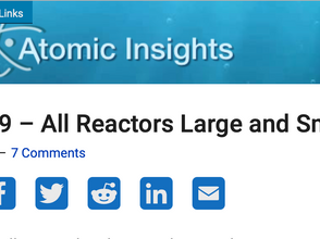 Atomic Insights Podcast – All Reactors Large and Small