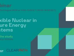 Webinar: Flexible Nuclear in Future Energy Systems