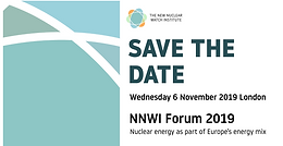 NNWI Forum 2019: Nuclear energy as part of Europe's energy mix