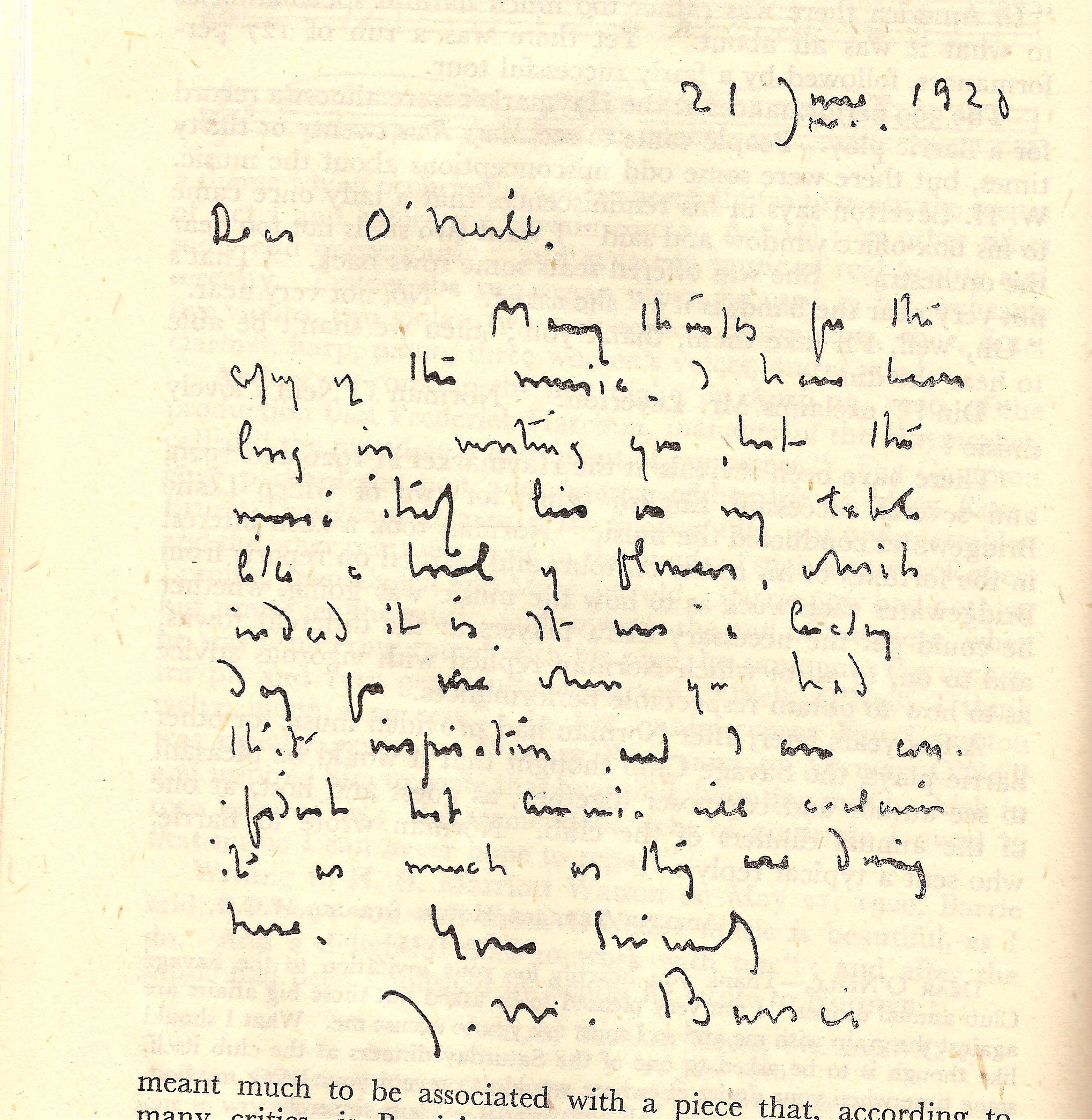 Barrie letter
