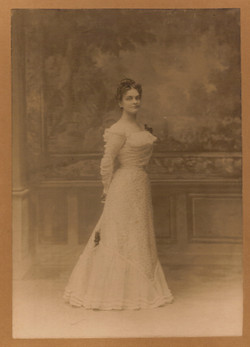 Adine O'Neill 1899 at the time of her marriage