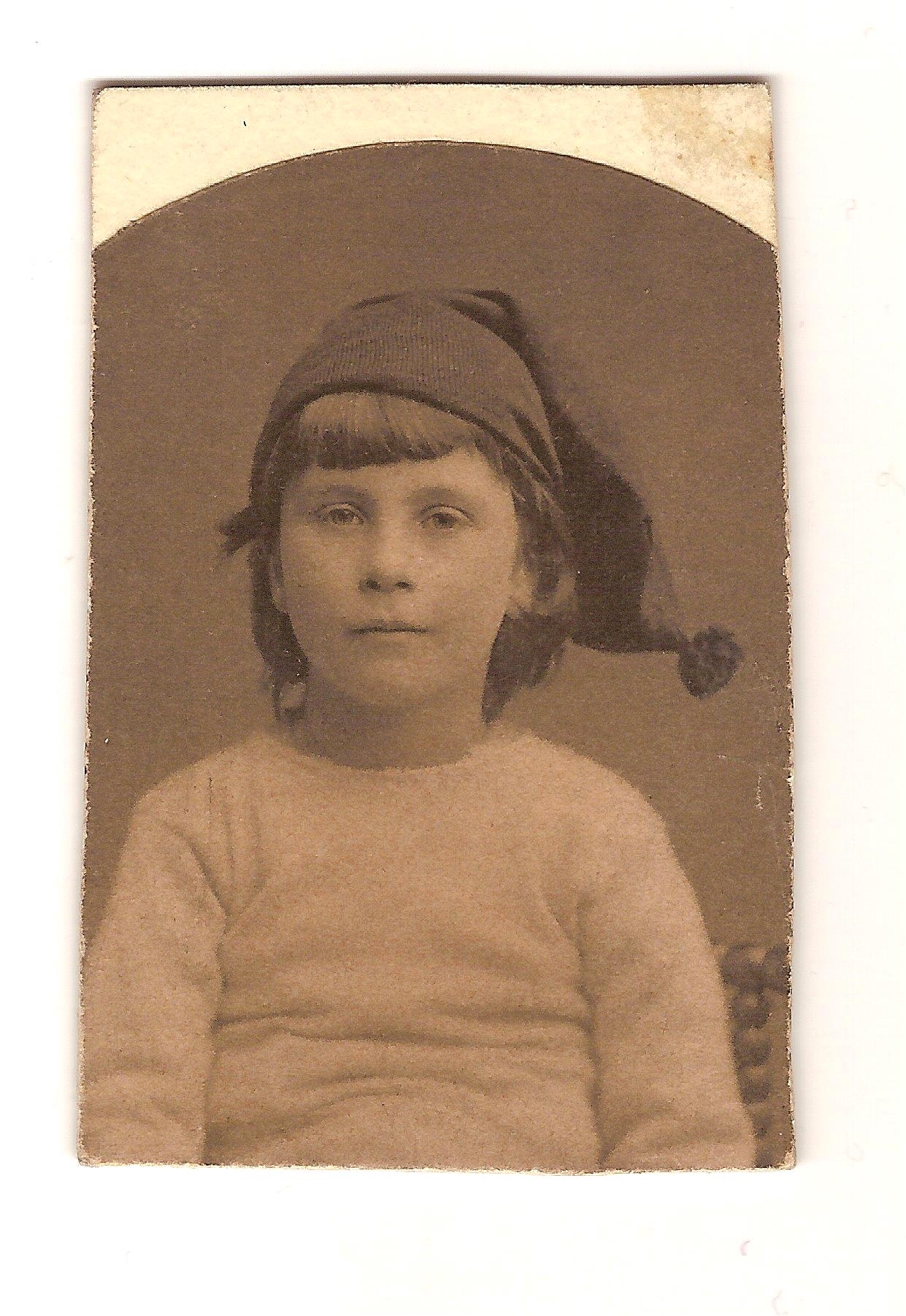 Norman O'Neill aged 7 years