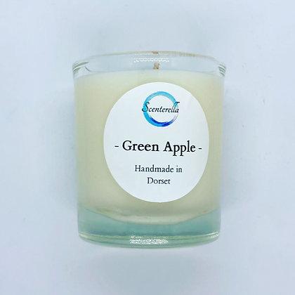 Green Apple Votive Candle Jar
