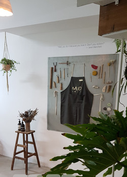 1st floor Retail and production