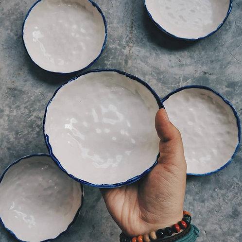 Porcelain skin bowls