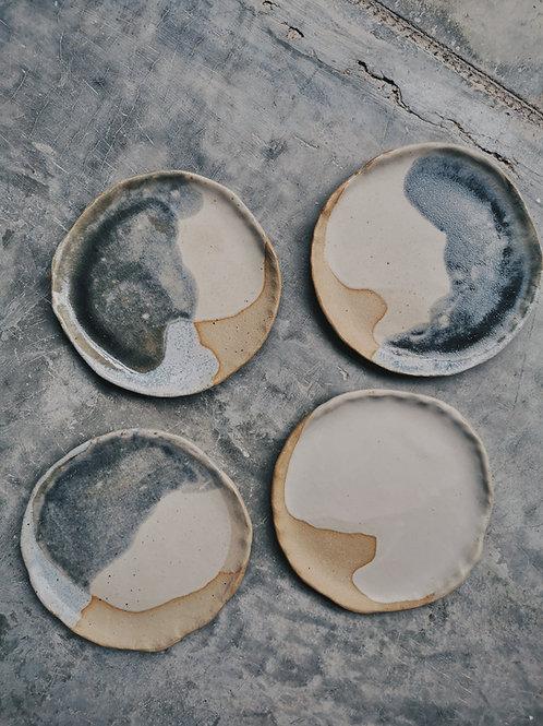Raw plates (18cm)