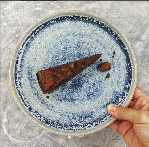Handmade cake plates