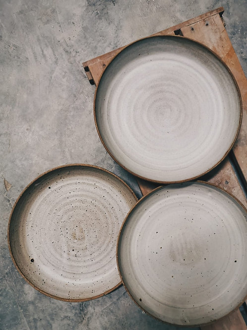 Large coupe plate 25cm x 4cm