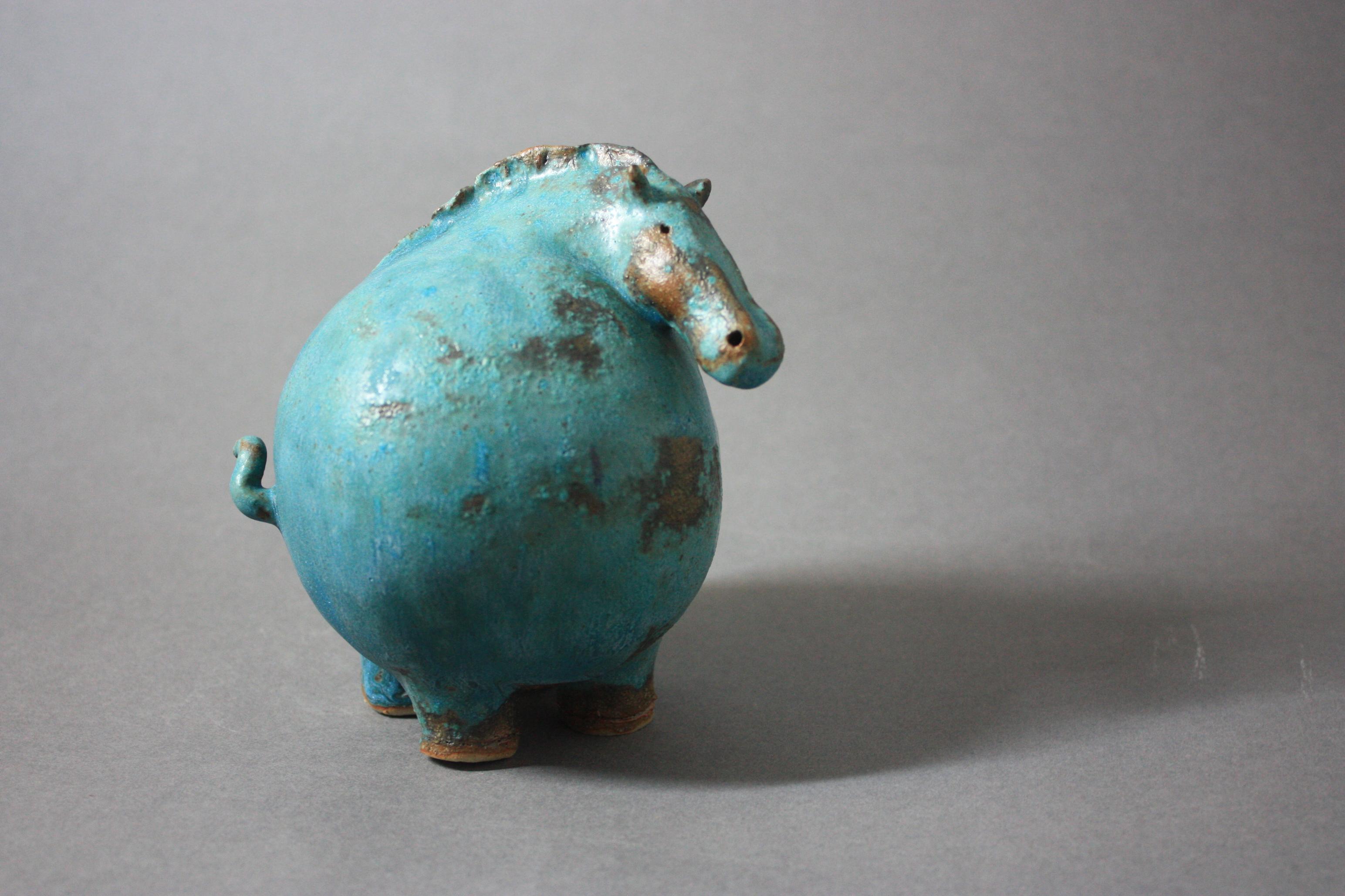 turqouise horse
