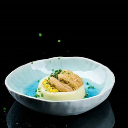 Uni! _gasp_ I might need to insist on tasting the food before we make ceramic wares for our chefs an
