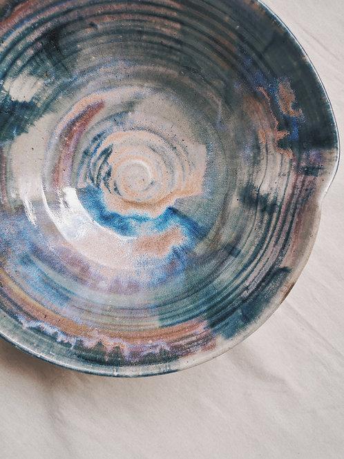 Large Geometric Serving Bowls