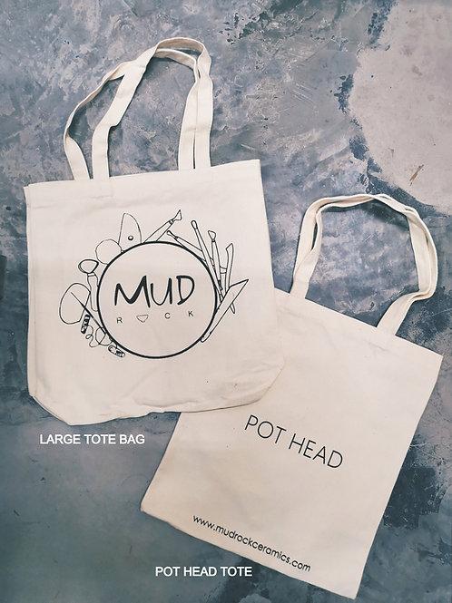 Mud Rock Tote Bags