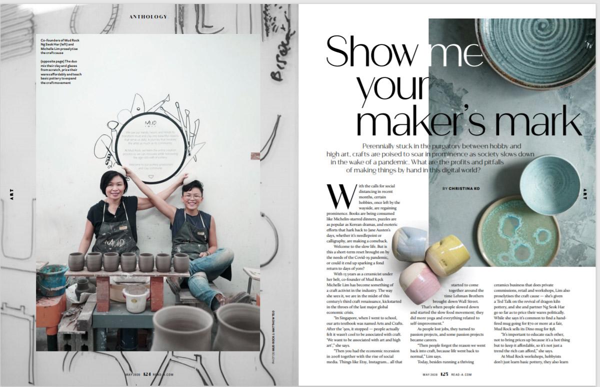 READ A. Magazine