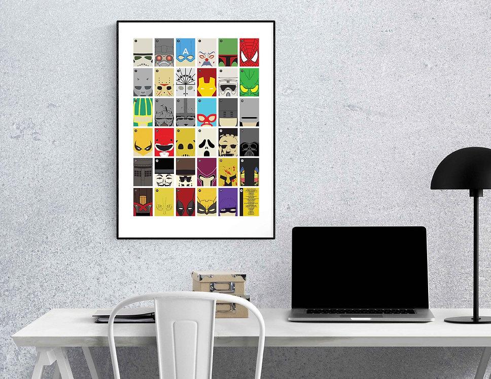Minimalist Mask Poster Frame.jpg