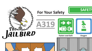 CON AIR SAFETY CARD
