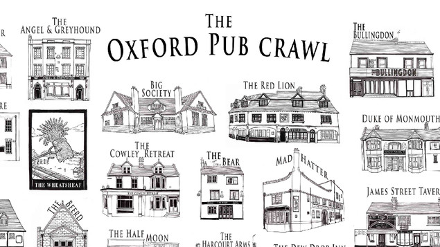 OXFORD PUBCRAWL