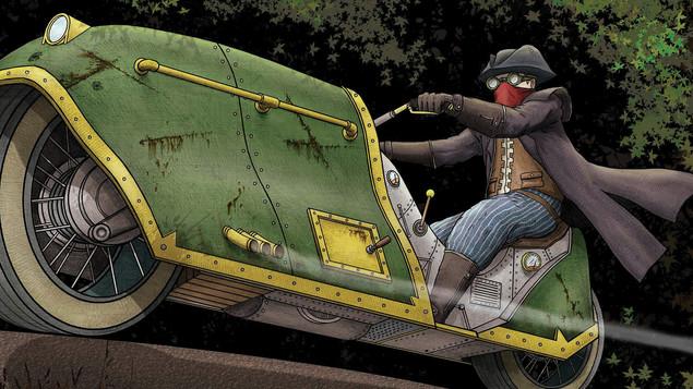 Steam Highwayman V.I