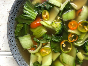 Bone Broth & Veggie soup