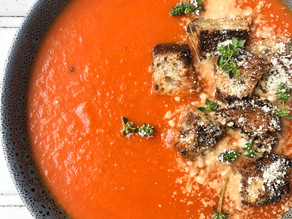 Tomato & Sweet Potato Soup