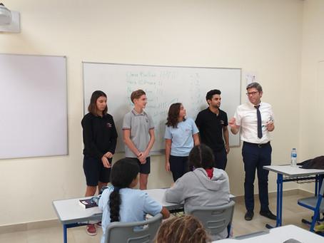 Octobre 2018, élection des représentants des élèves et des parents d'élèves au conseil d'établisseme