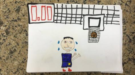 Le joueur de basket