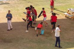Les rouges en action