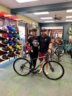 Tina TREK Bike Winner!