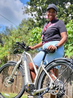 Sharon S. (E-Bike Winner)
