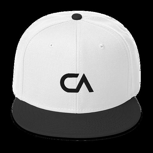 CA Logo Snapback | Black Logo