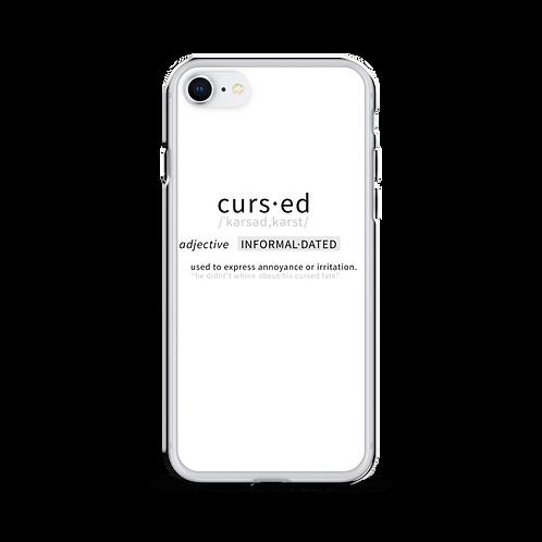 Google Cursed | iPhone Case