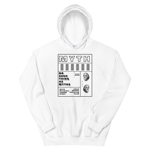 MYTH Hoodie | White
