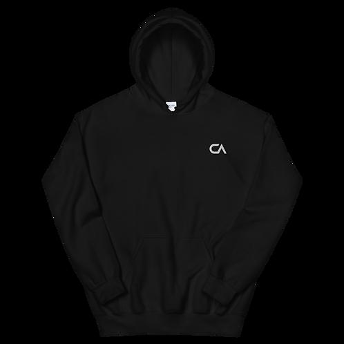 CA Hoodie Embroidered  | Black