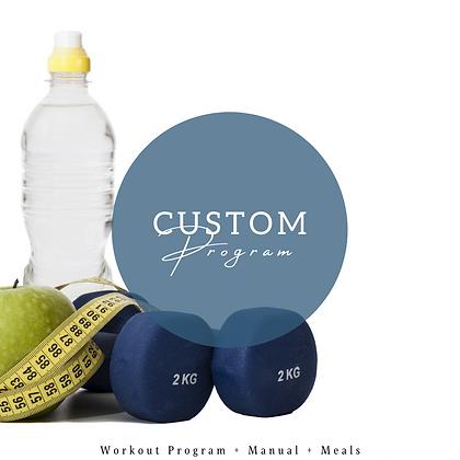12 Week Customized Program