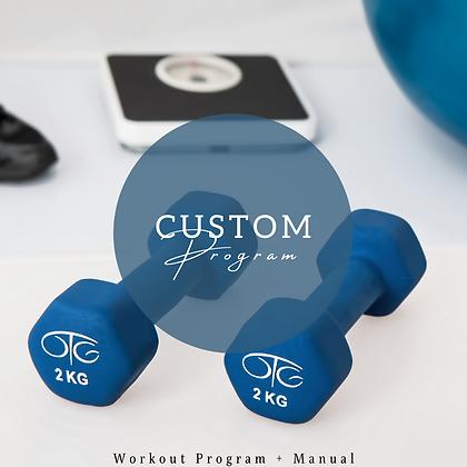 8 Week Customized Program