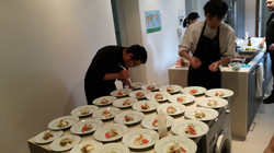 Terreno's Chef Carlos Shin Plating