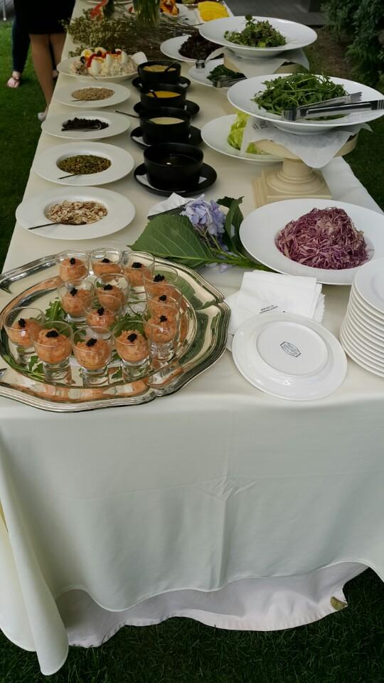 Salmon Tartar Appetizer