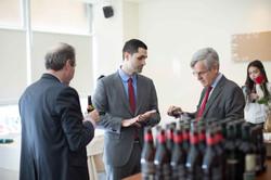 Ambassador Spich and Translater