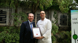Award to Sobremesa Restaurant