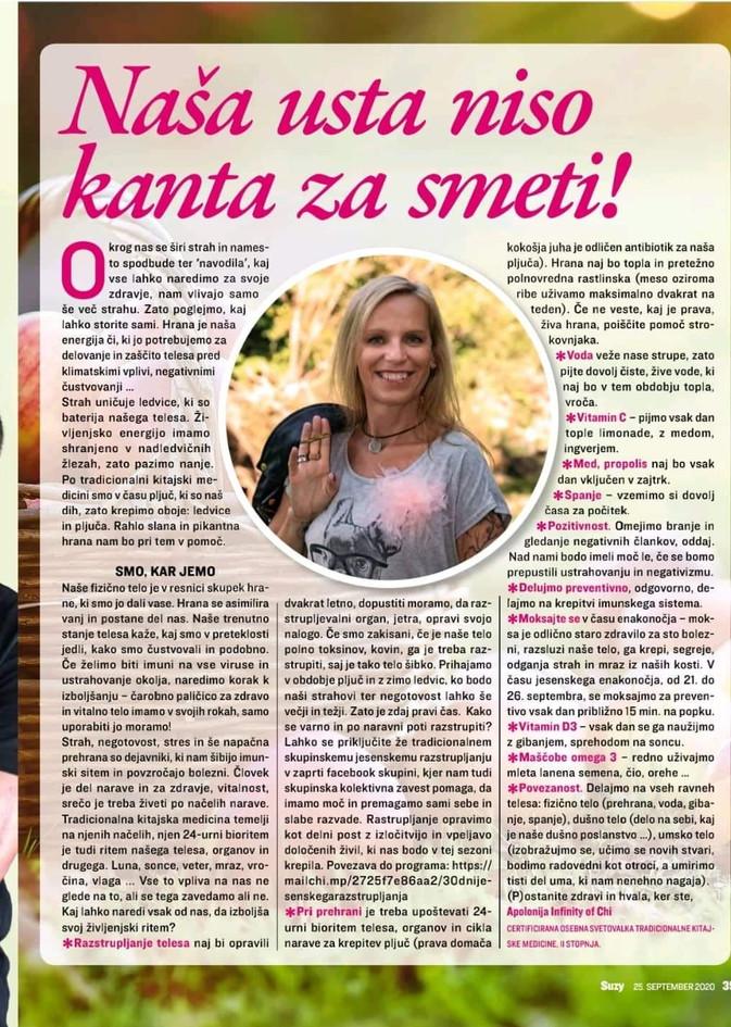 Revija Suzy, jesen