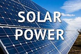 Solar Power Installation - J Hulick - Pe