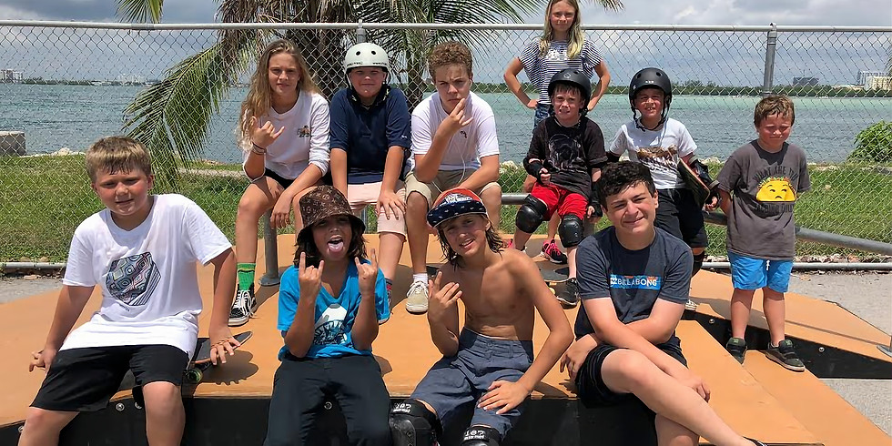 Spring Skate Camp with Island Camps