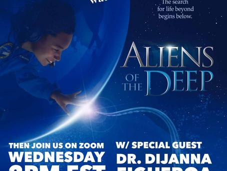 Meet Dr Dijanna from Aliens of the Deep