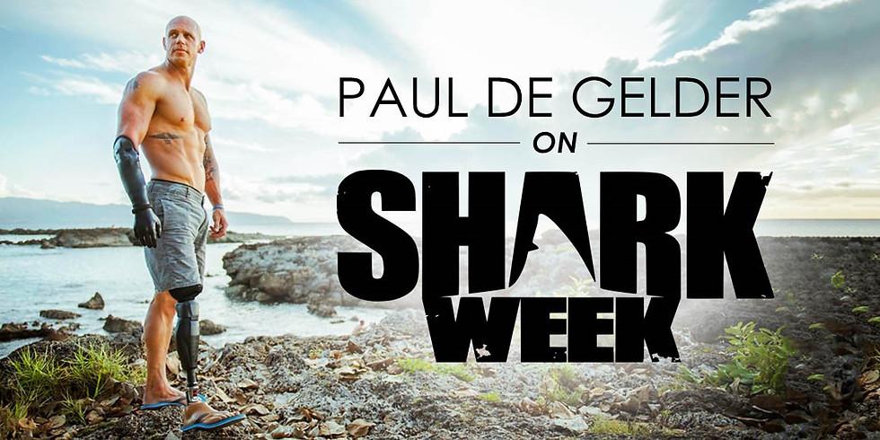 Sharks4Kids Presents: Shark Bite Survivor and Advocate Paul de Gelder