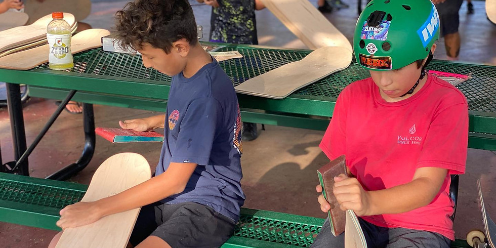 Create-A-Skate Art Program (10 Students)