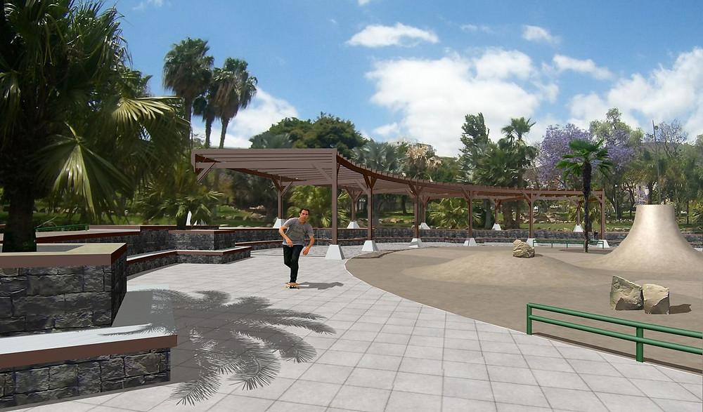 Visual for Parque de la Granja on Tenerife.