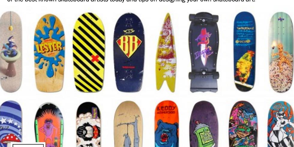 Skate Science: Art & Design of the Skateboard with Santa Cruz Skateboards