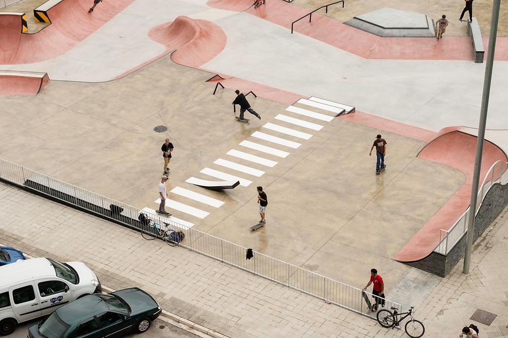Daniel Yabar's Santa Lucia Skatepark in Vitoria, Spain. Pic: Sergio Martin